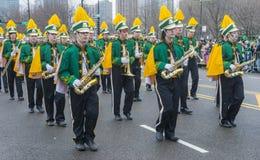 Parade Chicagos St Patrick Lizenzfreie Stockfotografie