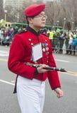 Parade Chicagos St Patrick Stockfoto