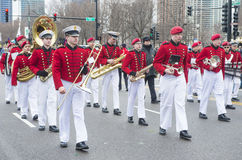 Parade Chicagos St Patrick Lizenzfreie Stockbilder