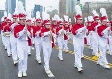 Parade Chicagos St Patrick Lizenzfreie Stockfotos