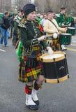 Parade Chicagos St Patrick Stockbilder