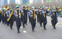 Parade Chicagos St Patrick Stockfotografie