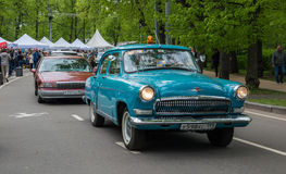 Parade of classic cars Stock Images