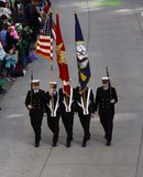 Parade Color Guard Royalty Free Stock Photography