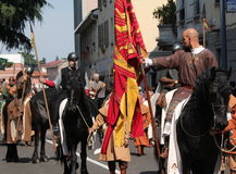 Parade contrada Royalty Free Stock Photos