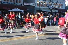 Parade Dancers Stock Image