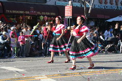 Parade Dancers Royalty Free Stock Images