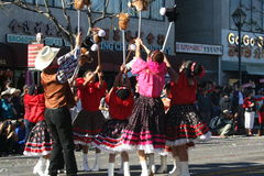 Parade Dancers Royalty Free Stock Photography