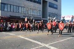 Parade Dancers Royalty Free Stock Photo
