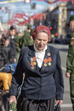 The parade dedicated to Victory Day Royalty Free Stock Image