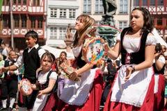 Parade der Kulturen, Frankfurt Stock Photo
