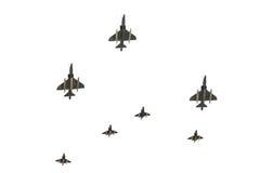 Parade der Luftwaffe von Israel. Lizenzfreies Stockbild