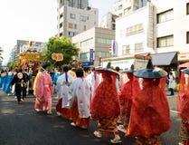 Parade des Kanda Festivals lizenzfreie stockfotos