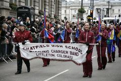 Parade des neuen Jahres Tagesin London Stockfotos