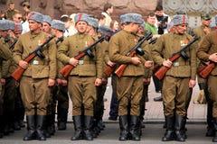 Parade des Sieges Stockbilder