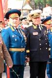 Parade des Sieges Stockbild