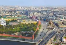 Parade des Siegtages in Moskau Kremlin Stockbilder