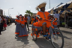 The Parade at Dia di Rincon Bonaire. Dia di Rincon Bonaire 2015 Stock Photography