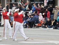 Parade die overgaat door Royalty-vrije Stock Foto