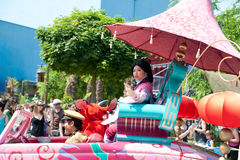 Parade in Disneyland Royalty Free Stock Image