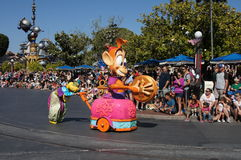 Parade at Disneyland Royalty Free Stock Photo