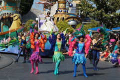 Parade at Disneyland Stock Image