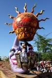 Parade Disneyland-Paris stockbild