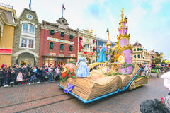 Parade Disneyland-Paris stockfotos