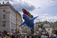 Parade of dragons Royalty Free Stock Photo