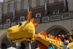 Parade of dragons Royalty Free Stock Photography