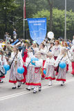 Parade of Estonian national song festival in Tallinn, Estonia Stock Photography