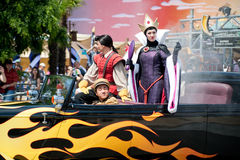 Parade with Evil Queen Stock Photography