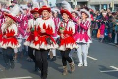Parade-Fasching-german carnival-Nuremberg stock photo