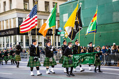 Parade Flags royalty free stock images