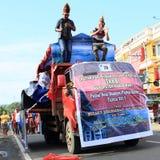 Parade float from Batak - North Sumatra Stock Images