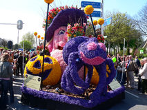 Parade flowers. Parade day flowers in Holland Stock Image