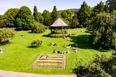 Parade-Gärten, Bad, Großbritannien lizenzfreies stockfoto
