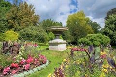 Parade Gardens in Bath, Somerset, England Royalty Free Stock Photos