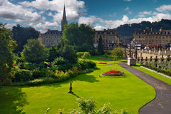 Parade Gardens at Bath United Kingdom Stock Photos