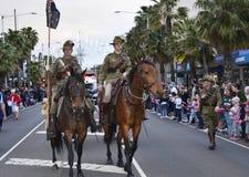 Parade in Geelong Lizenzfreie Stockfotografie