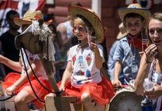 Parade in Graeagle Stock Photo