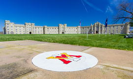 Parade Grounds at VMI Royalty Free Stock Photography