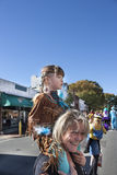 Parade Halloweens Happyfest in Warrenton, VA Stockbilder