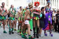 Parade of homosexual Royalty Free Stock Photos