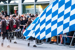 Parade of the hosts of the Wiesn Stock Photography