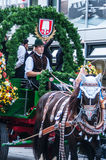 Parade of the hosts of the Wiesn Royalty Free Stock Photos