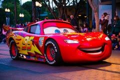 Parade-Kalifornien-Abenteuer Disneys Pixar Lizenzfreies Stockfoto