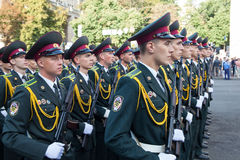 Parade in Kiev Royalty Free Stock Photos