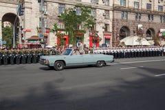 Parade in Kiev Royalty Free Stock Image