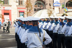 Parade in Kiev Royalty Free Stock Images